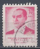 Turkey 1961. Scott #1528 (U) President, Kemal Atatürk * - 1921-... République