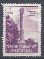 Turkey 1963. Scott #1569 (M) Julian's Column, Ankara * - 1921-... République