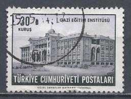 Turkey 1963. Scott #1573 (U) Gazi Institute Of Education * - 1921-... République