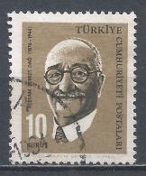 Turkey 1964. Scott #1616 (U) Sevket Dag, Painter * - 1921-... République