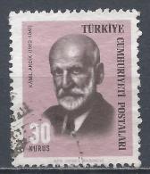 Turkey 1966. Scott #1695 (U) Kamil Akdik, Graphic Artist * - 1921-... République
