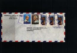Nicaragua Interesting Airmail Letter - Nicaragua