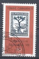 Turkey 1981. Scott #2195b (U) Stamps On Stamps, Balkanfila VIII Stamp Exhibition, Ankara * - 1921-... République