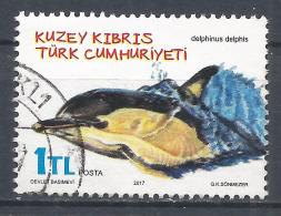 Turkish Republic Of Northern Cyprus 2017. Scott ##804 (U) Delphinus Delphis, Dolphin * - Chypre (Turquie)