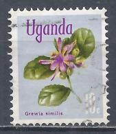 Uganda 1969. Scott #116 (U) Grewia Similis, Flower * - Ouganda (1962-...)