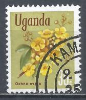 Uganda 1969. Scott #119 (U) Ochna Ovata, Flower * - Ouganda (1962-...)