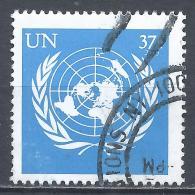 United Nations 2003. Scott #853 (U) UN Emblem * - New-York - Siège De L'ONU
