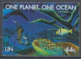 United Nations 2010. Scott #1005n (MNH) Fish, Turtle * - Neufs