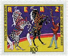 Ref. 65066 * NEW *  - GERMAN FEDERAL REPUBLIC . 1992. CENTENARY OF ERNEST JACOB RENZ. Circus Director. CENTENARIO DE ERN - [7] Federal Republic