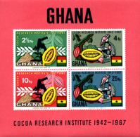 Ref. 262246 * NEW *  - GHANA . 1968. INSTITUTO INVESTIGACION DEL CACAO - Ghana (1957-...)