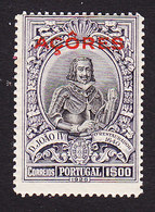 Azores, Scott #270, Mint Hinged, First Independence Overprinted, Issued 1926 - Azores