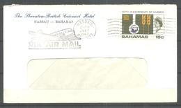 USED AIR MAIL COVER BAHAMAS - Bahama's (1973-...)