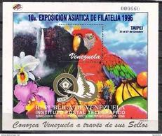 2864  Parrots - Perroquets - Birds - Oiseaux - Venezuela Sc 1543 - Free Shipping - 3.85 - Parrots