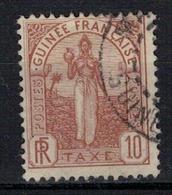 GUINEE          N°  YVERT     TAXE 2      ( 1 )       OBLITERE       ( O   3/33 ) - Guinée Française (1892-1944)