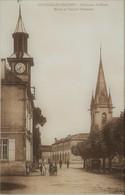 COURCELLES - CHAUSSY - Temple Protestant, Mairie Et Bâtiments Scolaires - Frankreich