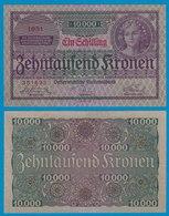 Österreich - Austria 1 Schilling Auf 10000 Kronen 1924 Pick 87 XF  (18756 - Austria