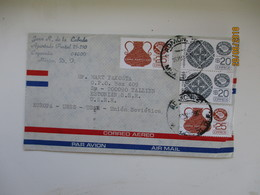 1985 MEXICO  COYOACAN AIR MAIL COVER TO RUSSIA USSR    , 00 - Mexico