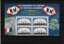 New Caledonia 2018 - Ship Dupleix I / Lighthouse Amedee -- Block Of 4-- MNH (**) - Phares