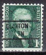 USA Precancel Vorausentwertung Preo, Locals Tennessee, Clinton 841 - Vereinigte Staaten