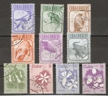 Cuba 1981/3 - Faune Et Flore - 2 Séries Complètes - Colibri - Perroquet - Crocodile - Manatee - Almiqui - Lys - Orchidée - Cuba