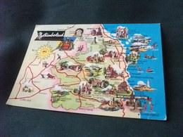 Carta Geografica NORTHUMBERLAND  NEWCASTLE UPON TYNE U.K. - Carte Geografiche