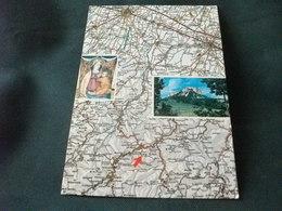 Carta Geografica CASTELNOVO NE' MONTI REGGIO EMILIA PIETRA BISMANTOVA - Carte Geografiche