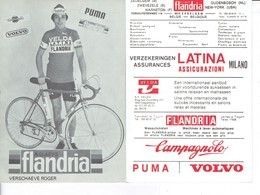 692 - CYCLISME - WIELRENNEN -  VERSCHAEVE ROGER - FLANDRIA - Ciclismo