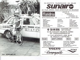 689 - CYCLISME - WIELRENNEN -  JAN VERFAILLE - FLANDRIA - Ciclismo