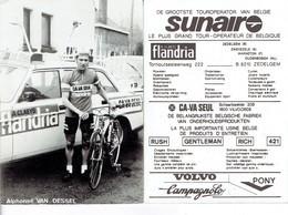 688 - CYCLISME - WIELRENNEN -  ALPHONSE VAN DESSEL - FLANDRIA - Ciclismo