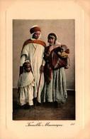 Algérie - Famille Mauresque - Scènes & Types