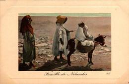 Algérie - Famille De Nomades - Scènes & Types