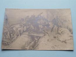Sur L'YSER ( Fotokaart ) Anno 1914 ( Zie Foto Voor Details ) ! - Oorlog 1914-18