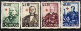 1938 Finland Red Cross Complete Set MNH. - Neufs