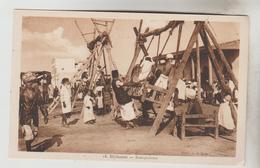 CPSM DJIBOUTI (République De Djibouti) - JEUX : Escarpolettes (ou Balançoires) - Djibouti