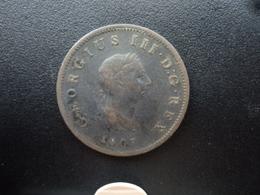 ROYAUME UNI : 1/2 PENNY  1807   KM 662    TTB - 1662-1816 : Anciennes Frappes Fin XVII° - Début XIX° S.