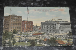 2599   Public Square -- Ohio Cleveland - 1914 - Cleveland