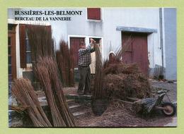 """BUSSIERES-LES-BELMONT  (52) : """" VANNERIE - Alain LACORDAIRE Triant De L'osier """" - Autres Communes"""