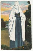 Turkische Frau In Bosnien Old WWI Censored Postcard (Karten-Centrale Jacob A.Cappon Sarajevo) B180625 - Europe