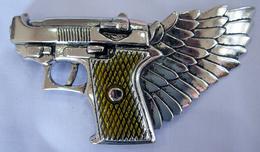 GUN BUCKLE - Belts & Buckles