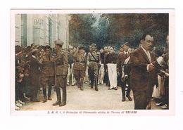 Sannio Benevento Telese Il Principe Di Piemonte Visita Le Terme  1939 Animatissima - Benevento
