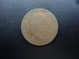 ROYAUME UNI : 1/2 PENNY  1861  KM 748.2    TB - 1816-1901 : Frappes XIX° S.