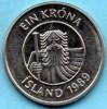 (r65) ICELAND / ISLANDE  1 KRONA 1989 - Islande