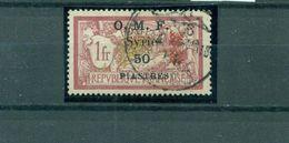 Französische Kolonie, Neuer Wert Auf Französischer-Marke, Mi.-Nr. 127 Gestempelt - Gebraucht
