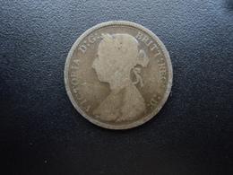 ROYAUME UNI : 1/2 PENNY  1893   KM 754    TB - 1816-1901 : Frappes XIX° S.