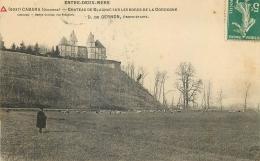 33 CABARA CHATEAU DE BLAGNAC SUR LES BORDSD E LA DORDOGNE - BERGER ET MOUTONS - France