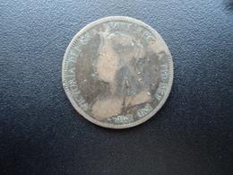 ROYAUME UNI : 1/2 PENNY  1897   SPINK 3961 * / KM 789    TB / B+ - 1816-1901 : Frappes XIX° S.