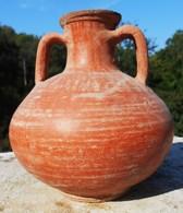 Belle Cruche  Romaine En Usage Du 2em Au 4em Siècle. - Archéologie
