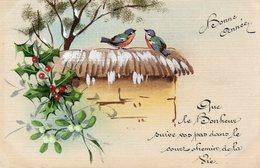 Bonne Année Oiseaux - Año Nuevo