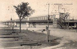 Dept 33,Gironde,Cpa Bordeaux,La Passerelle - Bordeaux