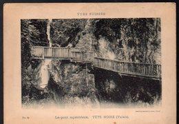 Tête Noire ( Valais , Suisse) Le Pont Mystérieux (vues Suisses) (PPP13591F) - Places